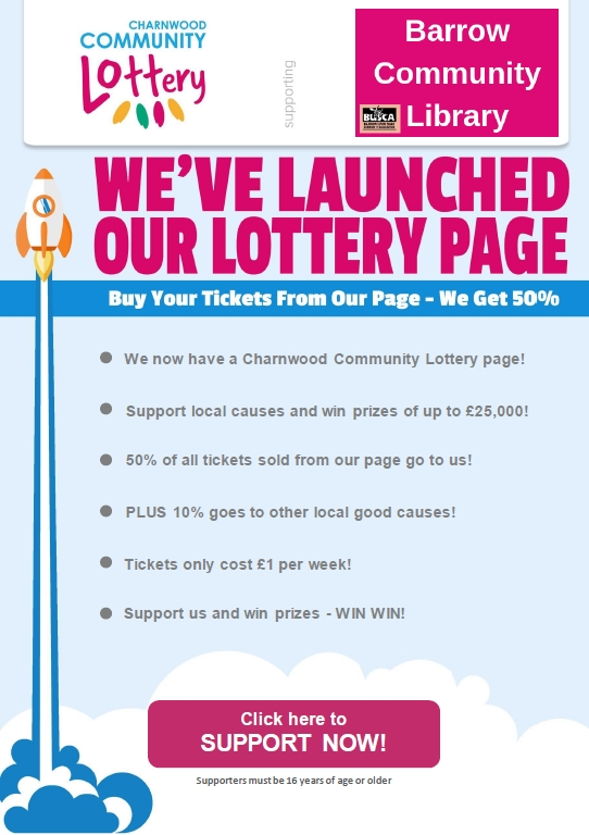 Charnwood Lottery Launch